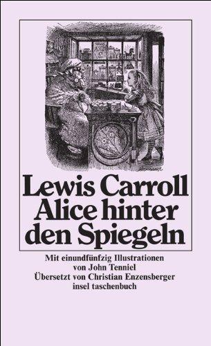 Buchseite und Rezensionen zu 'Alice hinter den Spiegeln (insel taschenbuch)' von Lewis Carroll