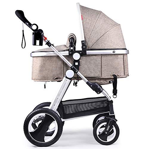 Ydq 2in1 Kombikinderwagen Set/Kinderwagen Komplettset Inkl. Babywanne Und Buggy - Sportwagen/Mit Innovativem Federungs-System Hartgummireifen