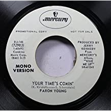 Faron Young 45 RPM Your Time's Comin' / Your Time's Comin'