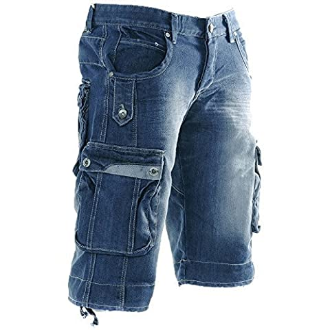 Main Colour: Stone Wash Blue | Trouser Size: 30 Waist
