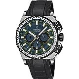 Festina Herren Chronograph Quarz Uhr mit Kautschuk Armband F16970/3