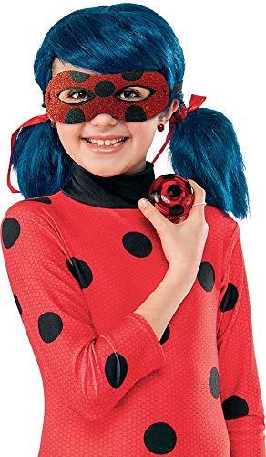 Rubies I-300294 - Estuche de accesorios Ladybug, niña, color rojo, talla única de 3 a 10 años