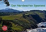 Der Nordwesten Spaniens (Wandkalender 2019 DIN A4 quer): Bezaubernde Vielfalt im Nordwesten der Iberischen Halbinsel von Ribadesella bis an die Küste 14 Seiten (CALVENDO Orte) - CALVENDO