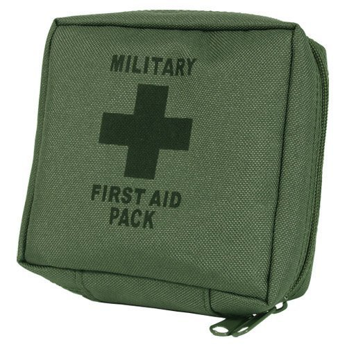 Military Army First Aid Kit Hiking Camping Survival Emergency Olive OD