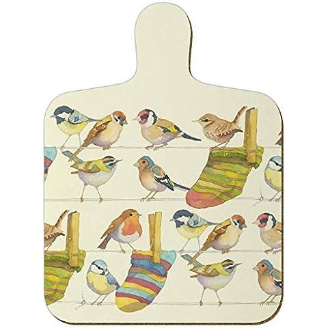 Jardín Pájaros–Emma Ball Multicolor Mini cocina–Tabla de cortar (23,5cm)