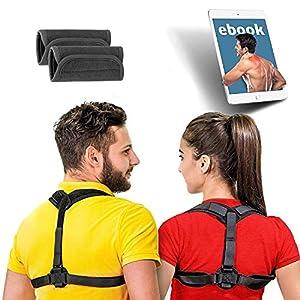 ABILITH Geradehalter zur Haltungskorrektur für Damen und Herren – Schultergurt Rückenbandage Haltungstrainer Verstellbar & Atmungsaktiv