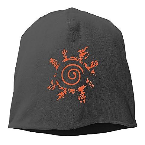 SUNpp Naruto Logo Wallpaper Winter Knit Cap Beanie Cap Skull Cap For Unisex