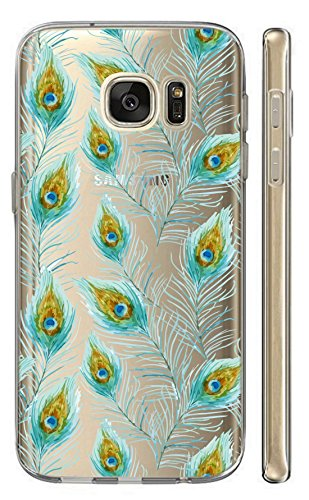 Samsung Galaxy S5 Mini G800 Softcase Cover Backkover TPU Schutzhülle Slim Case (2543 Federn)