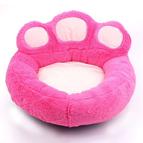 HUIFANG Bärentatzenzwingerkatternest Vier Jahreszeiten Universelles Plusmatzehaustiernest Kleiner Hund Teddy-Haustiermatte A (Farbe : Pink, größe : M)