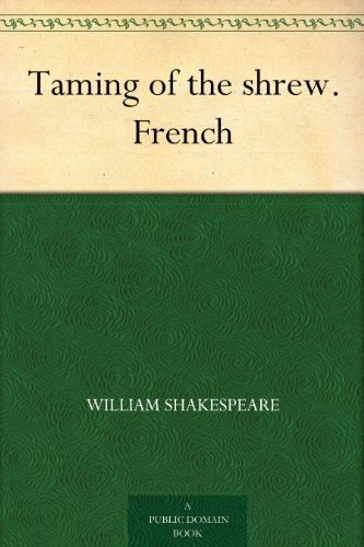 Couverture du livre Taming of the shrew. French