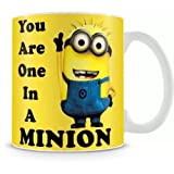 Best Anniversary Gifts For A Girlfriends - exciting Lives One in A Minion Mug Review