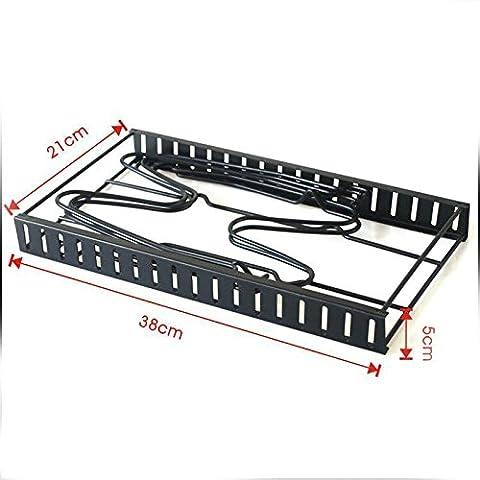 Lugii Cube multifonctionnel pliable Originalité de cuisine Fournitures de rack de stockage pour Cache-pot Poêle Planche à découper