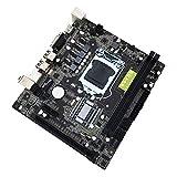 H61 Desktop Computer Mainboard Hauptplatine 1155 Pin CPU Schnittstelle USB2.0 VGA DDR3 1600/1333