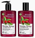 Best Avalon Organics Cream For Wrinkles - Avalon Organics Wrinkle Therapy CoQ10 Wrinkle Therapy Cleanser Review