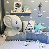 ruick Baumwolle Baby Kinderbett Stoßstangen Krokodil Puppe Lang Kissen Kinderzimmer Betten Room Decor Kissen für Kinde