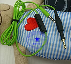 Replacement Audio Cable Cord Corde Mic Microphone Remote Control pour AKG K450 K480 K451