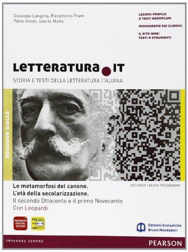 Letteratura.it. Vol. 3A. Ediz. gialla. Con espansione online. Per le Scuole superiori