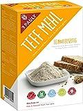 3 Pauly Teff Mehl - Glutenfrei, 2er Pack (4 Beutel à 400g)