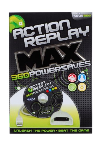 Xbox360 Action Replay Powersaves (Action Replay Xbox 360)