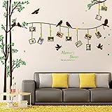 Wicemoon Vogel Bilderrahmen Baum TV Hintergrund Wandaufkleber Kunst Wandtattoo Abnehmbare Tapeten Home Decoration Art Aufkleber Muster Aufkleber an der Wand