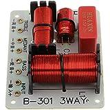 Homyl B-301 Treble Bass 3 Way Frequency Divider Speaker Audio Crossover Filters Board DIY
