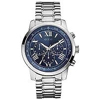 Guess Watches W0379G3 - Reloj, con correa de acero inoxidable, de color azul de Guess Watches