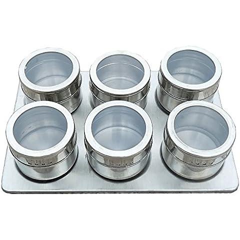 6pezzi–Scatola Condimento Condimento porta barattoli portaspezie,–Contenitore Condimento... Style 1