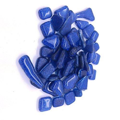 Craft Carreaux de mosaïque – Paillettes Murrini formes – Bleu