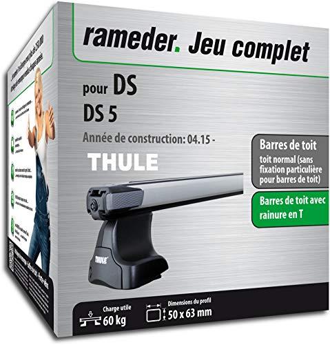 Pack Rameder barres de toit SlideBar pour DS DS5 (115077-14959-2-FR)