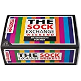 The Sock Exchange Weekender - Calcetines para hombre (desparejados, 6 unidades, tallas 39 a 46), multicolor