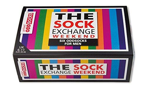 United Oddsocks / Sock Exchange Weekender Socken / 6er Set, verschieden faerbig, ungerade