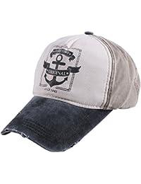 Vintage Baseball Cap Adjustable Visor For Men and Women Unisex