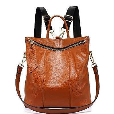 Sacs à dos femme en cuir véritable sac à main femmes Elégant casual Cartable college grande Mode