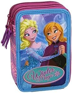 Frozen - Elsa e Anna Astuccio 3 Cerniere