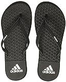 Adidas Damen Eezay Soft W Zehentrenner, Mehrfarbig (Core Black/footwear White/core Black 0), 37 EU (Herstellergröße: 4 UK)