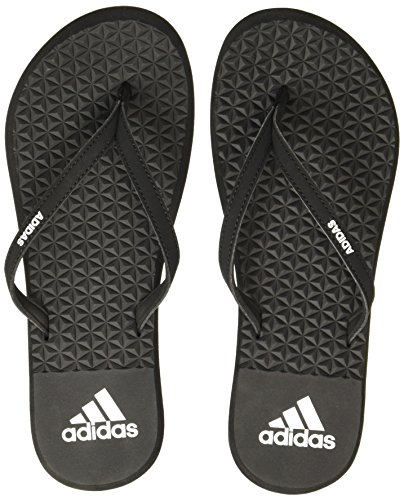 adidas Eezay Soft W, Chanclas para Mujer, Multicolor (Core Black/footwear White/core Black 0), 37 EU (Talla del fabricante: 4 UK)