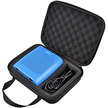 bose soundlink blue. poschell eva hard box shockproof protective case cover for bose soundlink color wireless bluetooth speaker and power adaptor blue