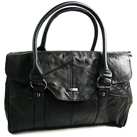The Leather Emporium , Sac femme - - noir,