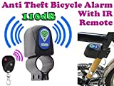 #5: Bicycle Motor Bike Anti Theft Security Alarm 110dB Loud Sound With Remote, Weather Resistant, Battery Included