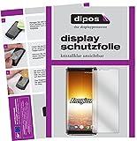 dipos I 2X Schutzfolie klar passend für Energizer Powermax P600S Folie Bildschirmschutzfolie