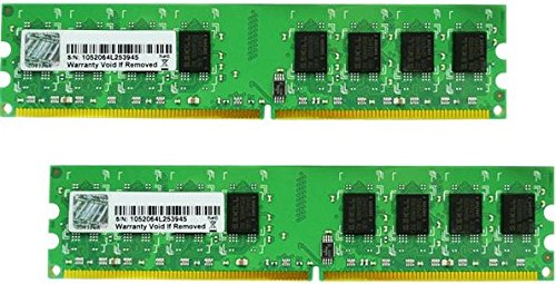 Gskill Ddr2 (G.Skill PC2-6400 Arbeitsspeicher D2 4GB (800 MHz, 240-polig) DDR2-RAM Kit)
