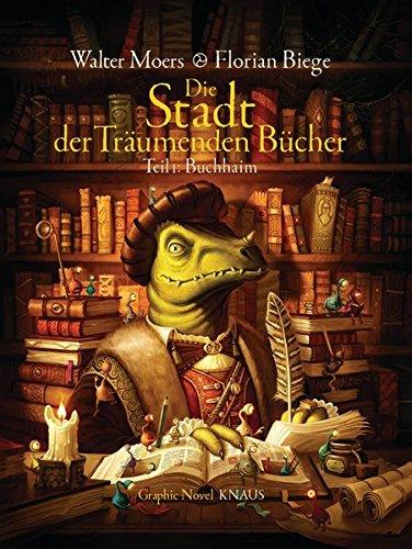 Buchseite und Rezensionen zu 'Die Stadt der Träumenden Bücher (Comic): Band 1: Buchhaim' von Walter Moers