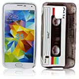 thematys Huawei Ascend G510 TPU Silikon KASSETTE Retro Design Schutz Handy Hülle Case Tasche Etui Bumper