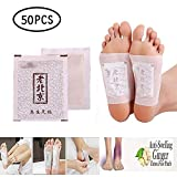 Insense 50PCS Ginger Anti-Inflammation Swelling Foot Patch Herbal Detox Foot Pads for Detoxify, Weight Loss, Stress Relief, Improve Sleep, Blood Circulation -Ginger Anti