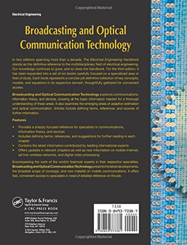 Broadcasting and Optical Communication Technology (The Electrical Engineering Handbook)