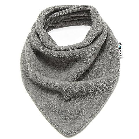 Lovjoy Baby/ Écharpe en laine polaire pour tout petit (Gris)