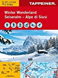 KOKA127 Winterkarte Winter Wonderland Seiseralm (Winter-Wanderkarten)