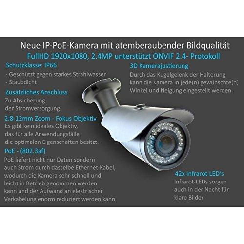 DVS-IP-berwachungsanlage-Komplett-Set-mit-4x-24MP-FULLHD-berwachungskameras-1000-GB