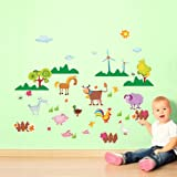 Harry & Bear Farm Animal Wall Stickers
