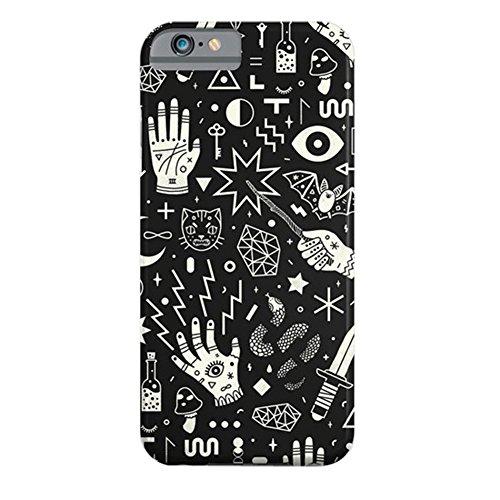 Cover iPhone 6s,TPU Gel Silicone Protettivo Skin Custodia Protettiva Shell Case Cover Per Apple iPhone 6 6S-Galassia Witchcraft